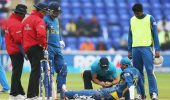 ICC Cricket World Cup: Lineup changed due to injury (part 2)